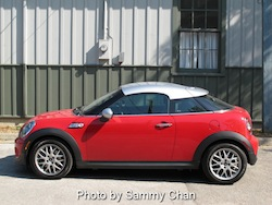2012 Mini Cooper Coupe S Red