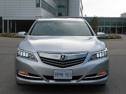 2013 Acura RLX Silver full front