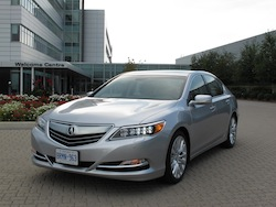 2013 Acura RLX Silver front