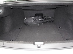 2013 Acura RLX Silver rear storage space
