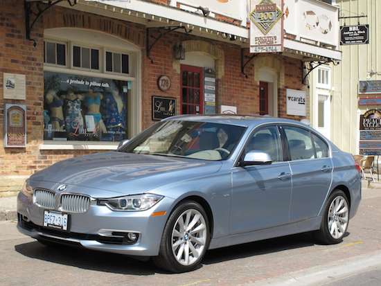 2013 BMW Activehybrid 3 Blue