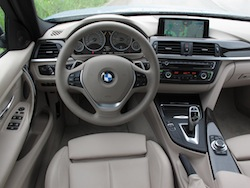 2013 BMW Activehybrid 3 Blue interior