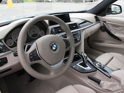 2013 BMW Activehybrid 3 Blue dakota leather interior
