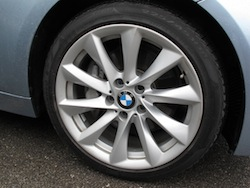 2013 BMW Activehybrid 3 Blue wheels rims