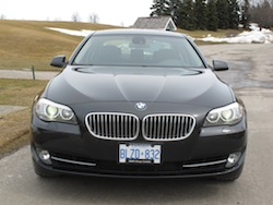 2013 BMW Activehybrid 5 Black