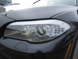 2013 BMW Activehybrid 5 Black headlights