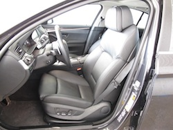 2013 BMW Activehybrid 5 Black front seats