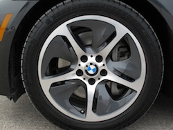 2013 BMW Activehybrid 5 Black wheels rims