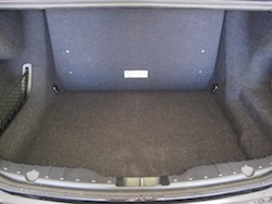 2013 BMW Activehybrid 5 Black rear storage space