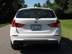2013 BMW X1 xDrive35i M-Sport Alpine White rear