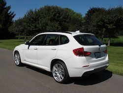 2013 BMW X1 xDrive35i M-Sport Alpine White