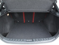 2013 BMW X1 xDrive35i M-Sport Alpine White storage trunk space