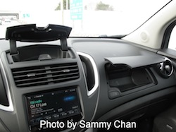 2013 Chevrolet Trax Gray front dashboard