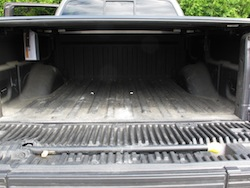 2013 Ford F150 FX4 Supercrew Ecoboost rear bed trunk storage