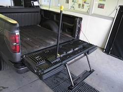 2013 Ford F150 FX4 Supercrew Ecoboost trunk open and handle bar