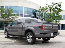 2013 Ford F150 FX4 Supercrew Ecoboost rear side