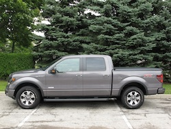 2013 Ford F150 FX4 Supercrew Ecoboost side view