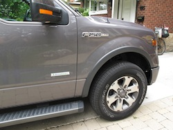 2013 Ford F150 FX4 Supercrew Ecoboost side fender