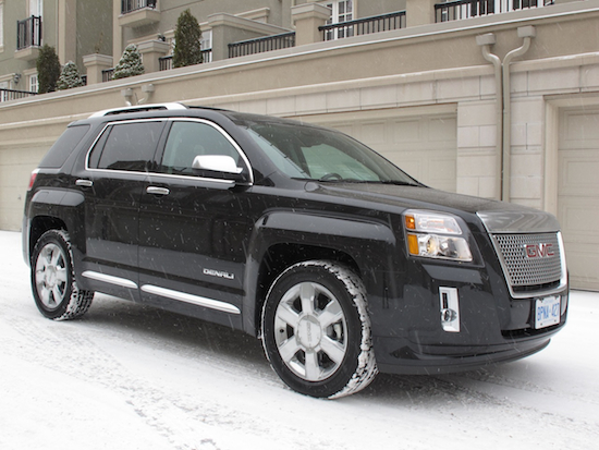 2013 GMC Terrain Denali front side snow