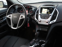 2013 GMC Terrain Denali interior dashboard