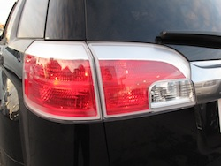 2013 GMC Terrain Denali rear taillights