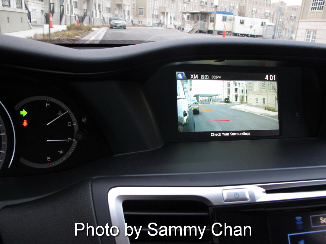 2013 Honda Accord V6 Touring Blue side cameras blind spot display