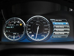 2013 Jaguar XJ 3.0L AWD Black instrument cluster gauges controls menu