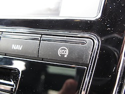 2013 Jaguar XJ 3.0L AWD Black eco mode button