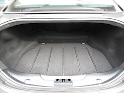 2013 Jaguar XJ 3.0L AWD Black trunk storage space