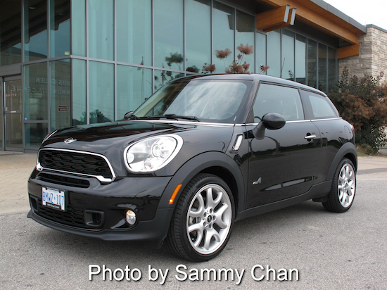 2013 Mini Cooper S Paceman ALL4 Black front side view library