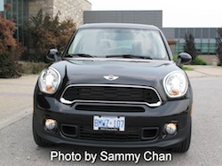 2013 Mini Cooper S Paceman ALL4 Black front view