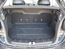2013 Mini Cooper S Paceman ALL4 Black trunk storage space