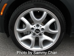 2013 Mini Cooper S Paceman ALL4 Black wheels rims