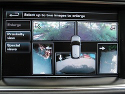 2013 Range Rover V8 Supercharged Black surround cameras touch screen display