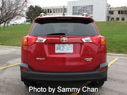 2013 Toyota RAV4 Red full rear
