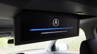 2014 Acura MDX Elite ultrawide 16.2 inch dvd display