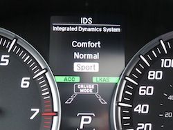 2014 Acura MDX integrated dynamics system