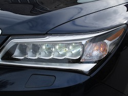 2014 Acura MDX front headlights