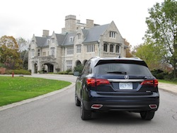 2014 Acura MDX rear view