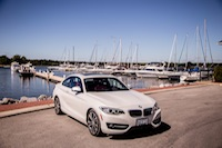 2014 BMW 228i front side view ajax port