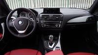 2014 BMW 228i interior red dashboard