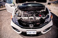 2014 Honda Civic Si Coupe DOHC VTEC engine