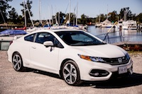 2014 Honda Civic Si Coupe White