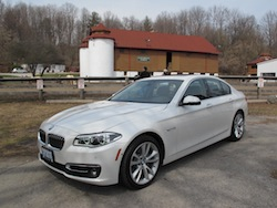2014 寶馬 BMW 535d xDrive Metallic White front view