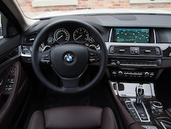 2014 寶馬 BMW 535d xDrive Metallic White interior mocha nappa leather comfort seat interior