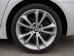 2014 寶馬 BMW 535d xDrive Metallic White wheels rims 19 inch