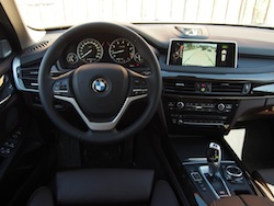 2014 BMW X5 xDrive 35i Sparking Brown Metallic interior dash steering wheel