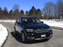 2014 BMW X5 xDrive 35i Sparking Brown Metallic front view