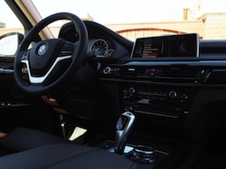 2014 BMW X5 xDrive 35i Sparking Brown Metallic interior nappa leather dash