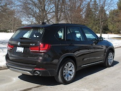 2014 BMW X5 xDrive 35i Sparking Brown Metallic wheels taillights